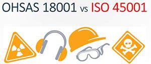 Điểm khác biệt chính giữa ISO 45001 và OHSAS 18001