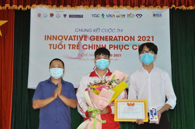"""TQC đồng tài trợ cuộc thi """"Innovative Generation 2021: Tuổi trẻ chinh phục công nghệ thông tin""""(IG2021)"""