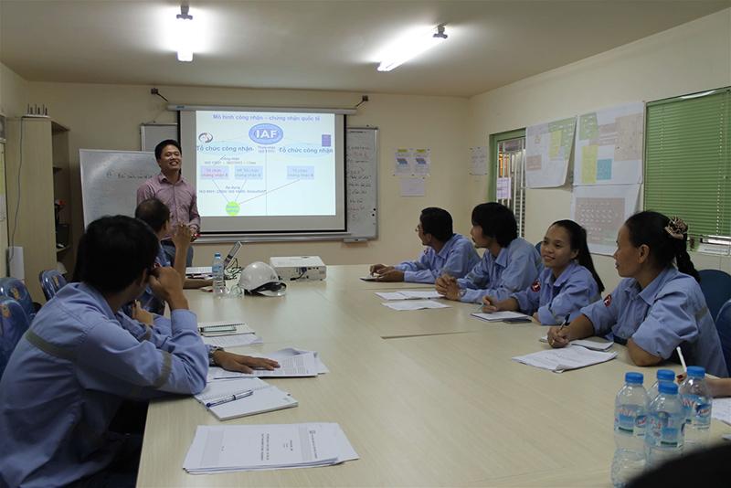 Đào tạo ISO 9001 và ISO 14001 tại Công ty Vonfram Núi Pháo – H.C Starck