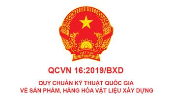 Quy chuẩn kỹ thuật quốc gia QCVN 16:2019/BXD