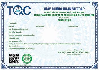 TQC chính thức được chỉ đinh Chứng nhận VietGAP Chăn nuôi (VietGAHP)
