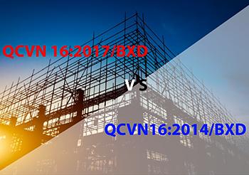 Những điểm mới của QCVN 16:2017/BXD so với QCVN 16:2014/BXD