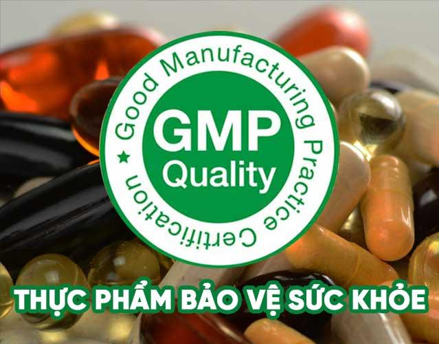 Chứng nhận GMP thực phẩm chức năng uy tín, chuyên nghiệp