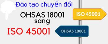 Hướng dẫn chuyển đổi từ OHSAS 18001 sang ISO 45001:2018