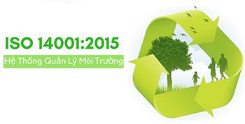 Đào tạo, Chứng nhận ISO 14001:2015 - Hệ thống quản lý môi trường