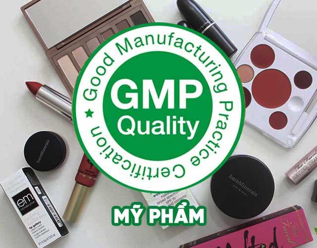 Chứng nhận GMP mỹ phẩm uy tín, chuyên nghiệp
