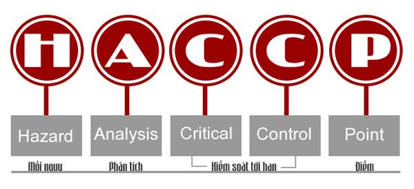 Dịch vụ chứng nhận HACCP - Hệ thống Phân tích mối nguy và kiểm soát điểm tới hạn