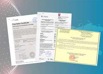 Xin giấy chứng nhận lưu hành tự do CFS